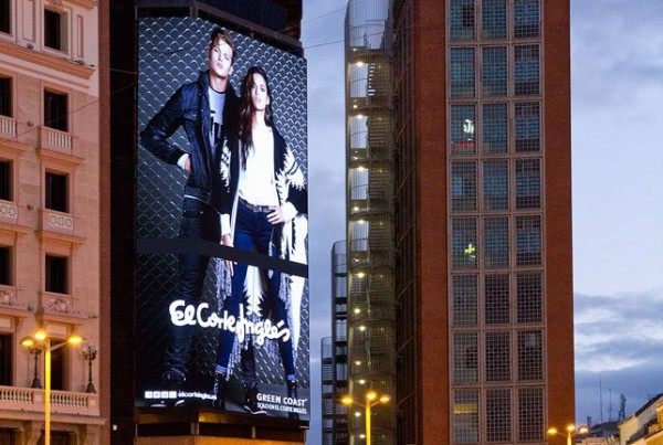 pantallas led corte ingles callao
